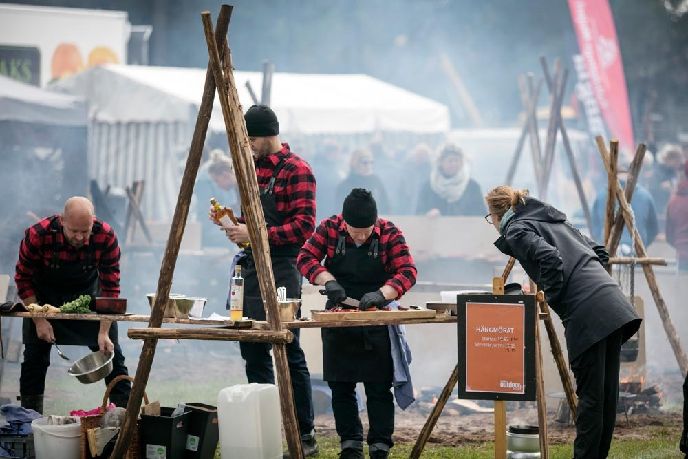 #swedenoutdoorfestival #nextskövde #utomhusmatlagning #billingen