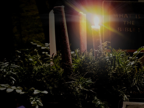 1st Sunday of Advent (Ages 3-6): Jesus the Light