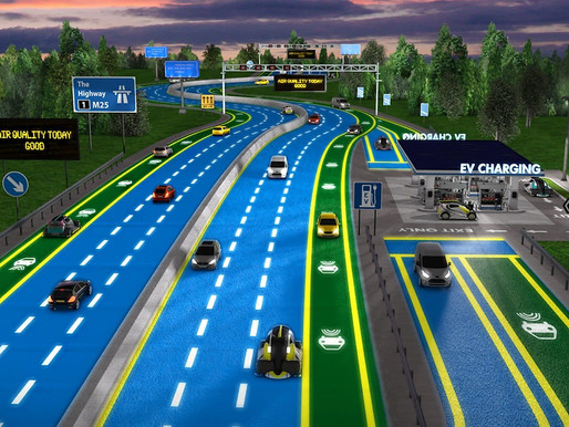 Luminescent Travelling Paints : Future of Roads