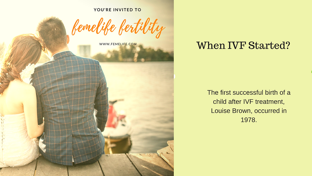 When IVF Started