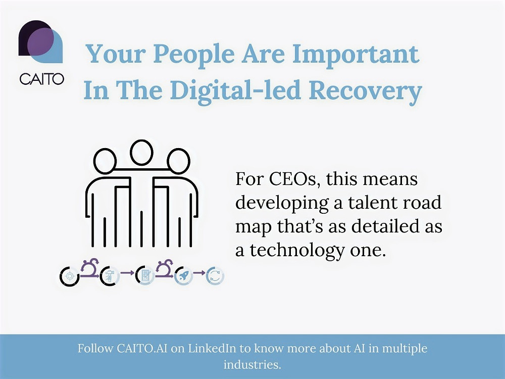 For CEOs, this means developing a talent road map that's as detailed as a technology one.