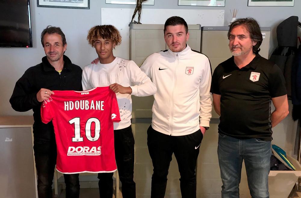 Naolfel Hdoubane Dijon FCO FC Lyon
