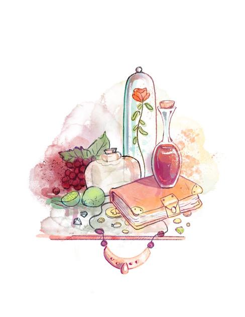 Fairy Tale Wedding Invite 2