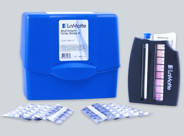 aluminum colorimetric test kit