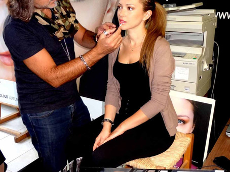Beauty Seminars @korres                      MUA Sakis Isaakidis