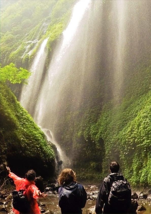 Madakaripura waterfall hike, Indonesia