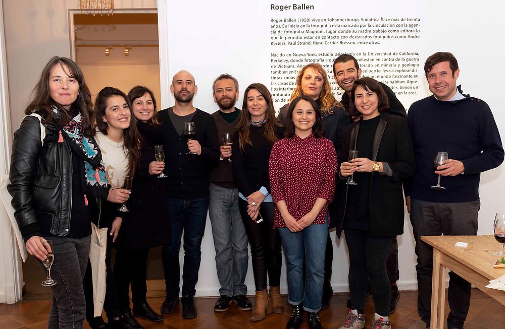 Equipo de dirección Piloto Galería, Arquitectos invitados y Representantes CECAL y Ministerio de las Culturas