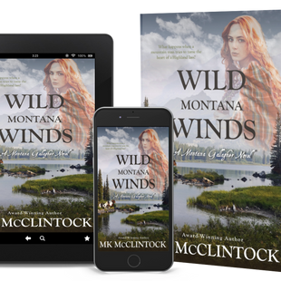 New Release: WILD MONTANA WINDS by MK McClintock
