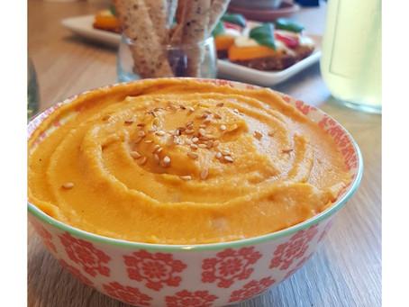 Houmous à la carotte