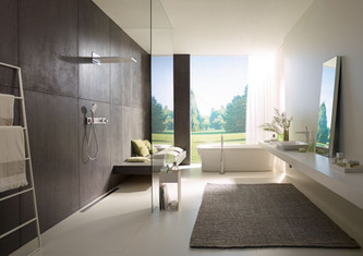 Looking for some bathroom inspiration? hansgrohe has got you covered.