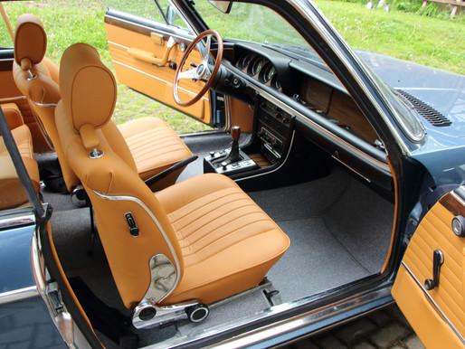 BMW 3.0 CS Teppich, Sitze, Türverkleidungen, etc