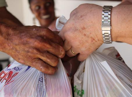 Casa Pão dos Pobres distribuiu quase 17 toneladas de alimentos em 2019