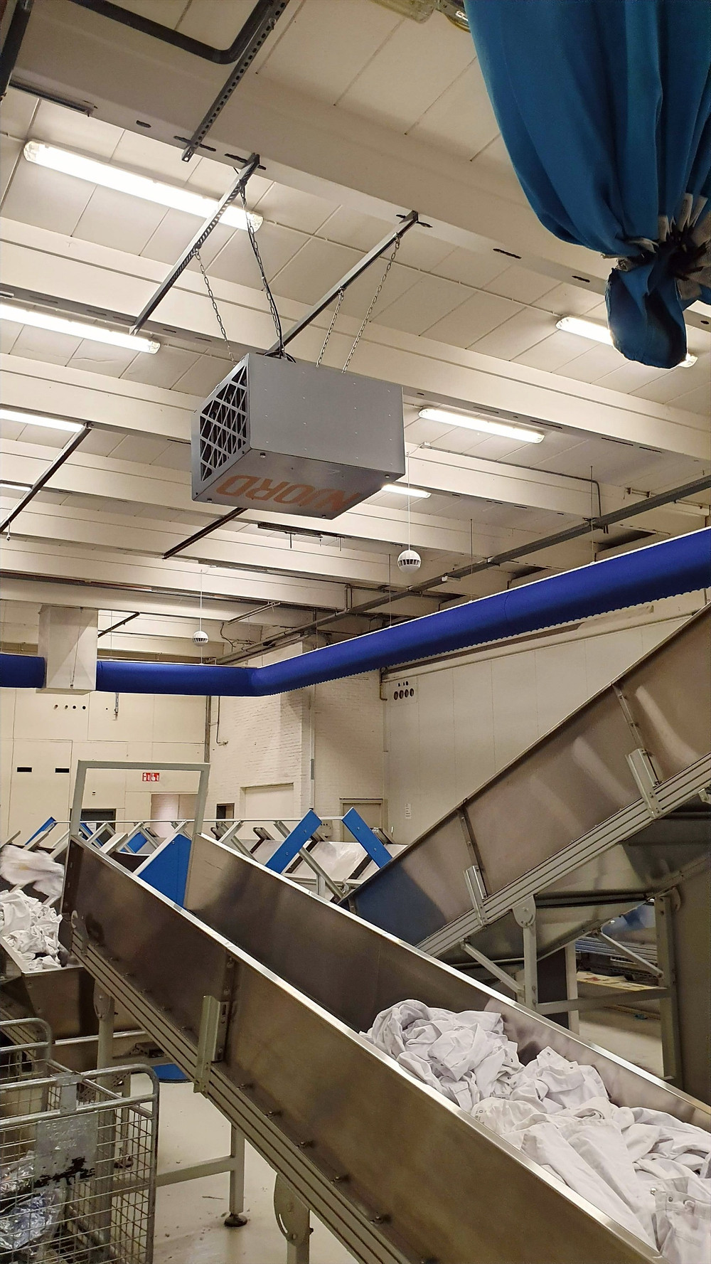 NJORD luchtfilterapparaten zijn voorzien van NJORDs best gecertifeerde filters welke maar liefst 90% van het fijnstof ter grootte van 1,0 micrometer (0,001mm) uit de omgevingslucht filteren.