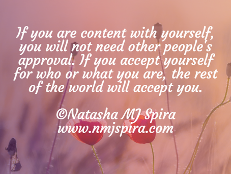 If you are content...
