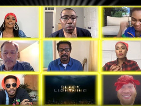 Painel de Black Lightning: elenco fala sobre quarentena, Black Lives Matter e mais!