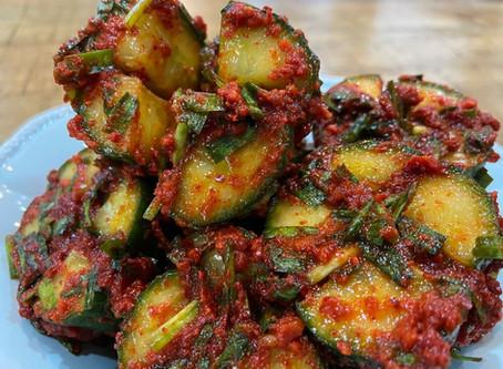 Delivery Menu Spotlight: Cucumber Kimchi