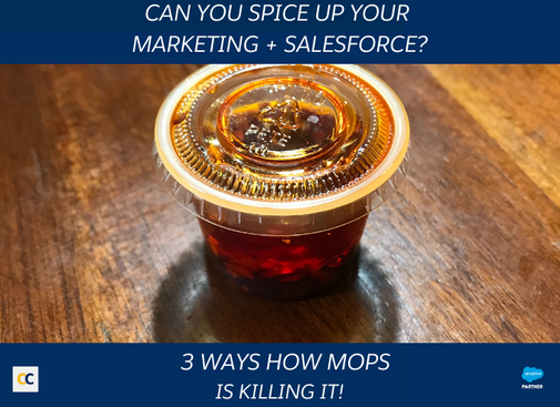 Can you spice up your marketing + salesforce?
