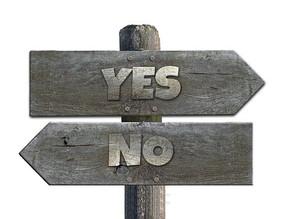 El valor de decir No a tiempo