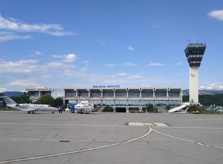 This Sunday almost 800 passengers went through Rijeka Airport