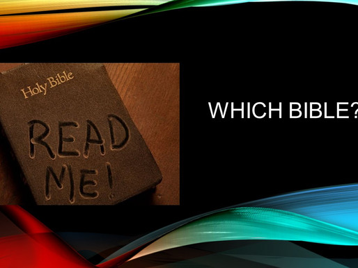 4. Which Bible?