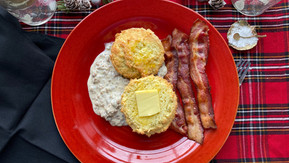KETO BISCUITS AND GRAVY MAMA JULIE STYLE