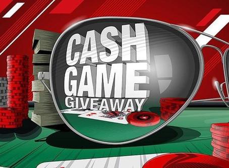 Cash Game Giveaway на PokerStars: раздача денег для кэш-игроков