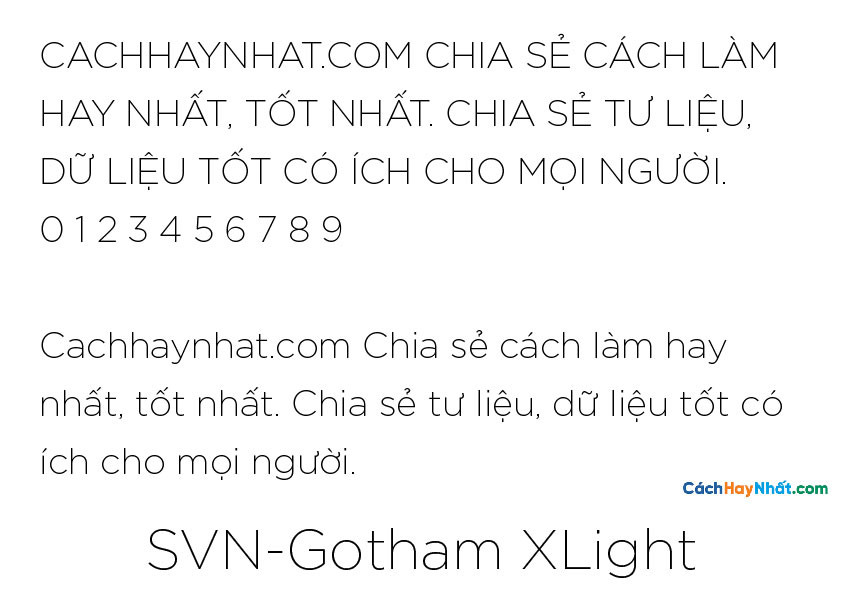 SVN-Gotham XLight