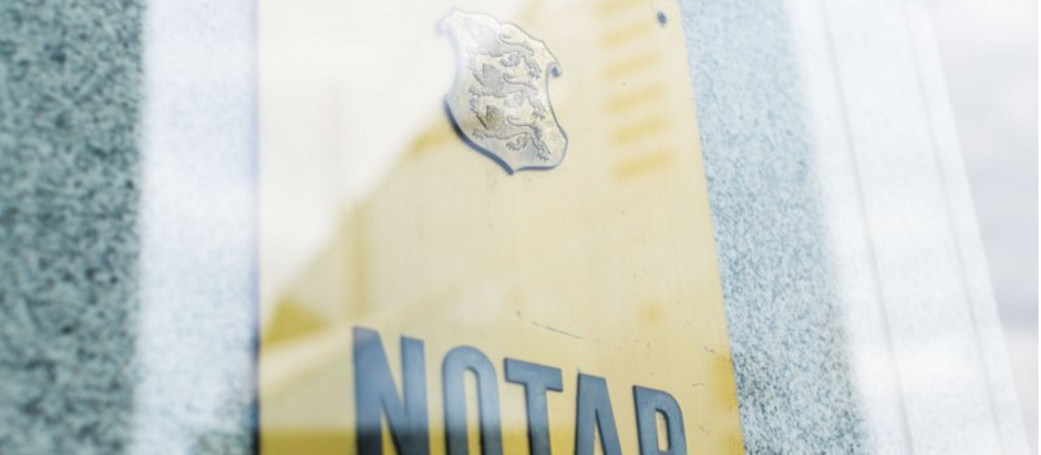 Next step in Estonian e-Governance. e-Notary self-service will allow remote transactions.