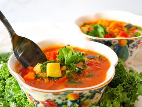 Vegetable & Farro Soup