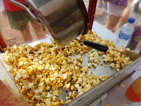 Funfair popcorn machine!