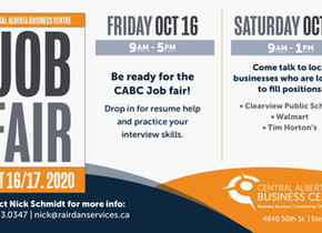 CABC to host Job Fair on October 16/17