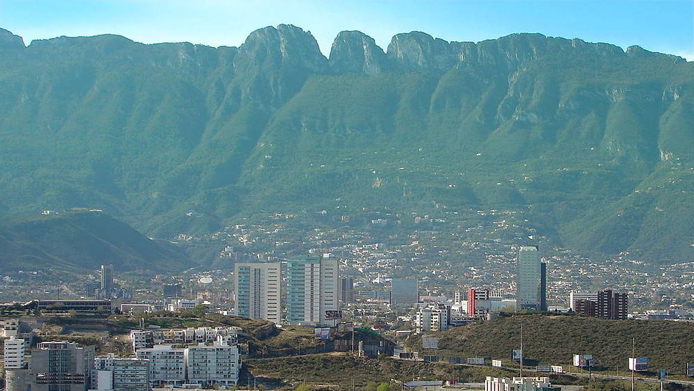 Sierra Madre desde San Pedro.