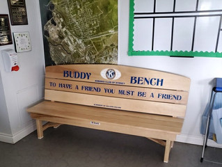 New Buddy Bench at the Club