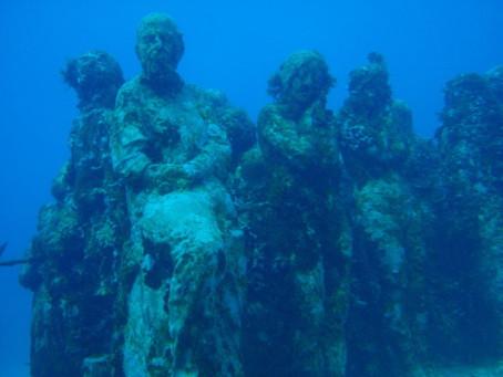El museo que se encuentra bajo el agua