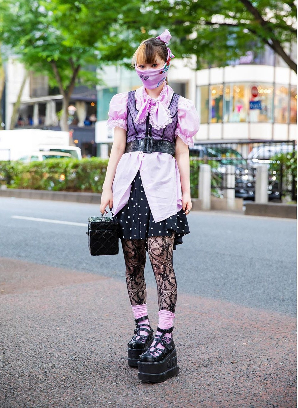 Harijuku, Street Style, Tokyo, Japan, Tokyo Fashion, Face Mask, Face Covering