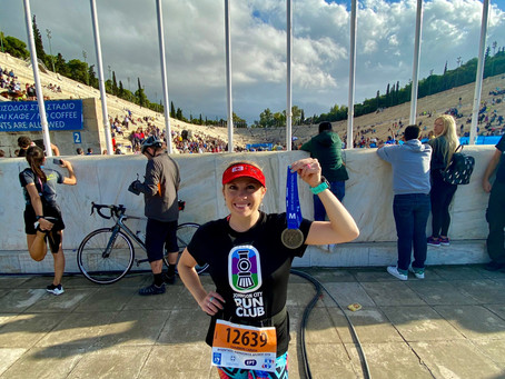 2019 Athens Authentic Marathon Race Report!!!