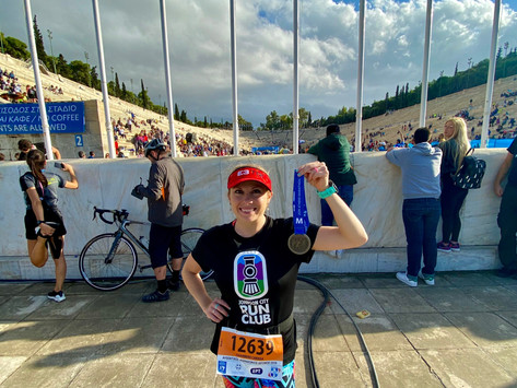 2019 Athens Authentic Marathon Race Report!!!