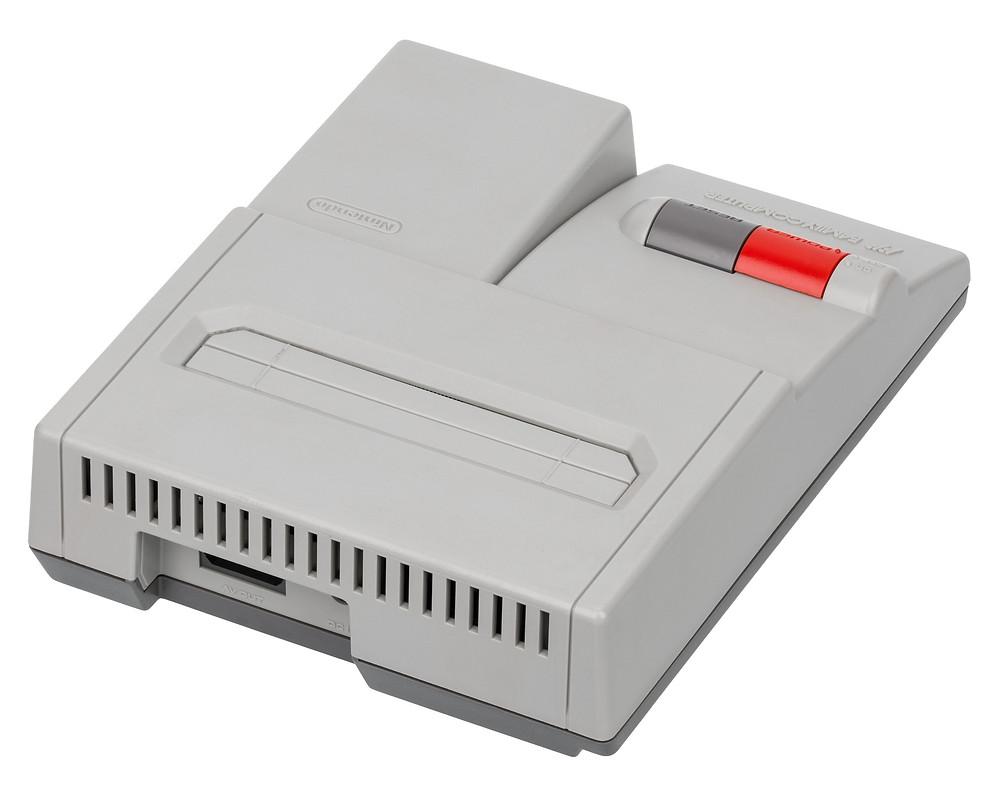 AV Famicom, with AV port visible