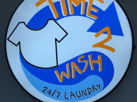 ร้านสะดวกซัก Time2wash