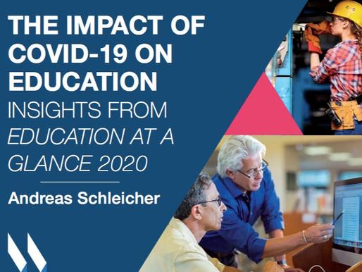 OCDE: impacto da pandemia na educação