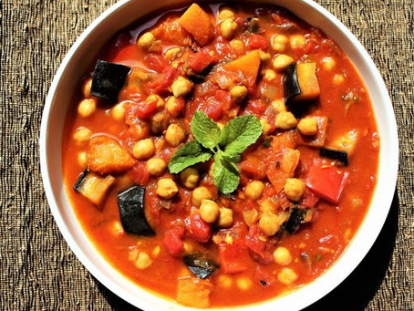 Easy Moroccan Vegetable Tagine