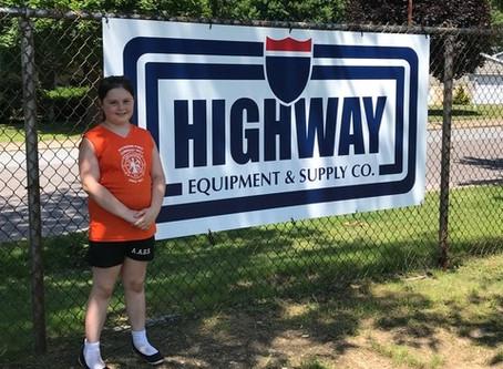 Softball League Thanks Highway Equipment