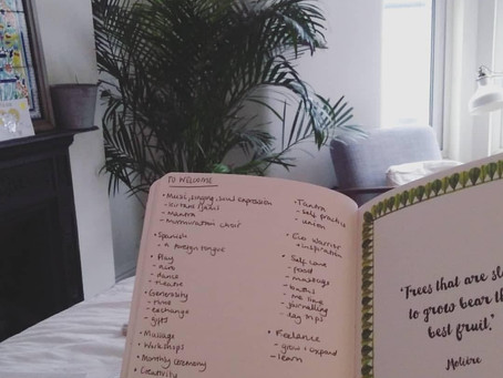 Intention setting for healthy goals