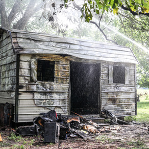 Fire Destroys Storage Shed in Keithville