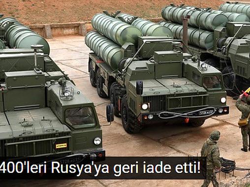 BİZ DEFALARCA S-400 LERİN PALAVRA OLDUĞUNU SÖYLEMİŞTİK !!!