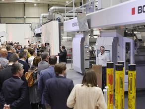 BOBST y sus socios del sector presentan un proceso completo de impresión Flexográfia.