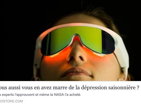 La dépression saisonnière vient du manque de signaux lumineux durant l'automne et l'hiver.