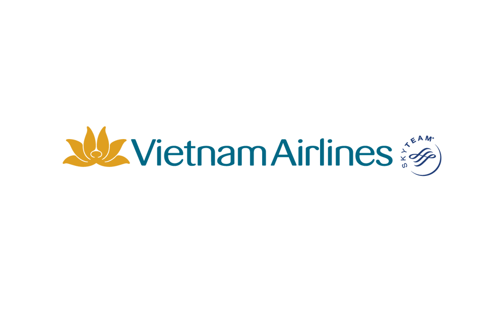 Logo Vietnam Airlines Sky Team PNG - Bố cục ngang