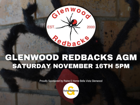 Glenwood Redbacks AGM 2019