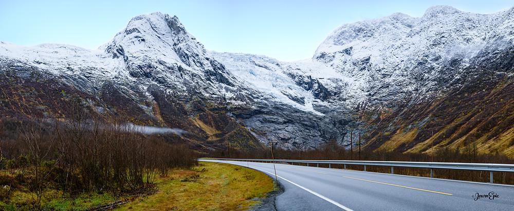 Boyabreen Glacier, Boyabreen Norway, Glaciers Norway, Norway Travel, Norwegian landscape